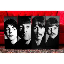Cuadros The Beatles Blanco Y Negro. Musica Y Decoración