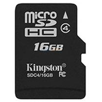 Memoria Micro Sd 16 Gb Kingston Celulares Camaras Digitales