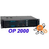 Amplificador Oneal Op 2000 290wrms Loja Tocmix