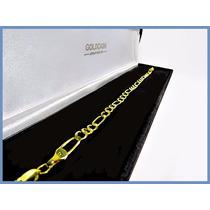 Pulsera Oro Amarillo Solido 10k Mod. Cartier De 4mm 5grs Acc