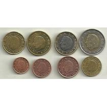 Serie 8 Monedas Euro Belgica 1999/00 Excelentes/sin Circular
