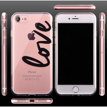 Funda Apple Iphone 7 Plus Transparente + Cristal Templado