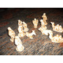 Nacimiento Miniatura De Ceramica Envejecido