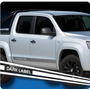Calco Amarok Vw Dark Label - Calcomania Franja Ploteoya!