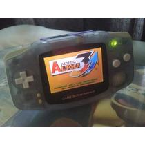 Gba Game Boy Advance Backlight Ags101 Mod Flash Card + Pilha