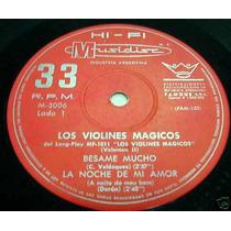 Los Violines Magicos Besame Mucho Vinilo Simple Argentino