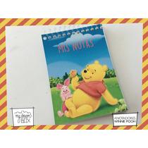 10 Anotadores 40 Hojas Souvenir Cumple Winnie Pooh Disney