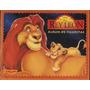 Album Rey Leon Disney Cromy + 10 Paquetes Figuritas Sobres