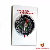 Bússola Com Indicação Do Norte Verdadeiro E Magnético