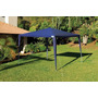 Kit Com 3 Tenda Praia Gazebo Azul Mor Barraca Camping