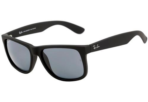 2daee600ed475 Ray Ban Rb 4165 Justin - Óculos De Sol 622 2v Polarizado - - R  499 ...