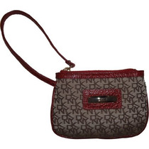Cartera Dkny Mitón Slg Town And Country Classics Rojo / Chi