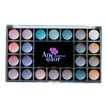 Kit 25 Sombras Color Fashion Oferta Anycolor