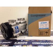 Compressor Ar Condicionado Ford Escort Zetec Polia 6pk Novo