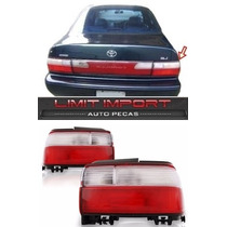 Par Lanterna Corolla Ano 1993 1994 1995 1996 1997 Bicolor