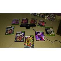 Kinect Original Para Xbox 360 E Jogos Para Game Destravado