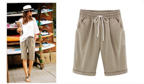 845daffccf Talla Us Mujer Shorts Casuales Damas Pantalones Cortos -   199.990 en Mercado  Libre