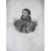 Antiguo Grabado Sin Enmarcar De Antoine Lasalle