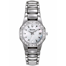 Relógio Bulova Feminio Analógico Madrepérola Wb27065q