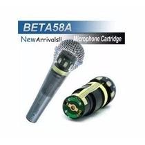 Capsula Para Microfone Shure Beta58a Pgx2 Slx2