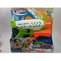 Juguete Nerf Super Soaker Shot Onda De Agua Pistola Blaster