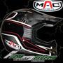 Casco De Moto Cross Mac Alta Calidad Solo En Fas Motos!!!!!!