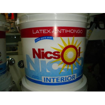 Pintura Latex Interior // Exterior Nicsol X 20 Litros