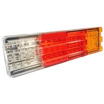 Lanterna Led Traseira Para Caminhão Mod. Mbb 24v - 60 Leds