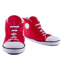 Zapatillas Altas Retro Rojas P/ Mujer/hombre Talla 7-10 Uk