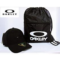 Boné Oakley E Sacola Mochila Oakley -kit