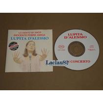 Lupita D´alessio En Concierto Lo Siento Inocente Pobre 96 Cd
