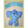 Cartel De Nacimiento Muñeco Elefante Bienvenido Bebe