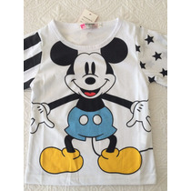 Camiseta Mickey Mouse Talla 3