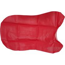 Capa Banco Xlx/nx 350 Sahara 87/99 Modelo Orig Vermelha