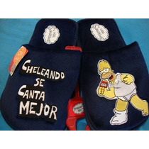 #25-29 Pantuflas De Homero Simpson Originales Nuevas Cynld
