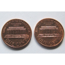 1 Cent 1996 Y 1999 Lincoln Estados Unidos