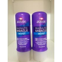 Kit Com 2 Máscara Aussie 3 Minute Miracle Moist 236ml