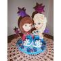 Frozen Personajes Infantiles Baby Shower Otro Tope De Torta