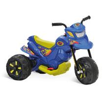 Moto Elétrica Infantil Bandeirante Xt3 6v Azul