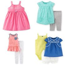 Carters Temporada 2015 Ropa Bebe Niña Conjuntos Vestidos