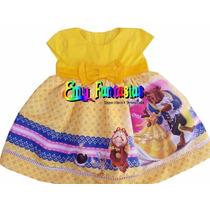 Vestido De Festa Luxo - Bela E A Fera Fantasia