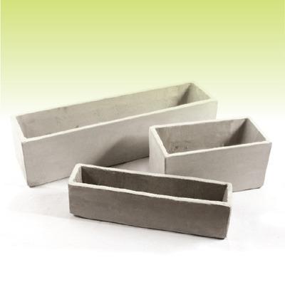 jardinera  macetas de cemento ref