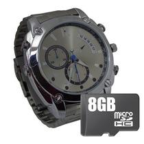 Reloj Espia Vision Nocturna 12mp Hd Camara Oculta 8gb