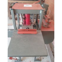Maquina De Fabricar Chinelos, Manual, Cortar Borracha