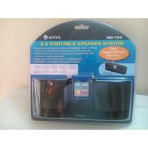 Corneta Portatil Para Ipop Iphone Mp3 Kinyo Ms-790