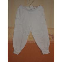 Mimo & Co Babucha Pantalon De Algodon Talle 4 Color Blanco