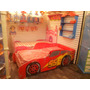 Cama Cars Rayo Mcqueen Base Carro