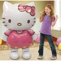 Globo De Hello Kitty Metalico 116 X 65 Cm