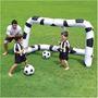 Trave De Futebol Inflável Bestway Com 2 Bolas Frete Grátis