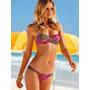 Traje De Baño Bikini Doble Tira En Top Para Ayudarte A Subir
